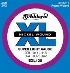 DADDARIO EXL120 Super Light .009-.042