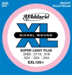 DADDARIO EXL120PLUS Super Light Plus .0095-.044
