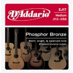 D'Addario EJ17 Phosphor Bronze Acoustic Guitar Strings (Medium, 13-56)