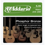 D'Addario EJ18 PB Heavy Acoustic Guitar Strings