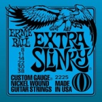 Ernie Ball  EB2225 Extra Slinky Nickel-Plated Steel Guitar Strings