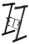 On-Stage KS7350 Folding Keyboard Z-Stand