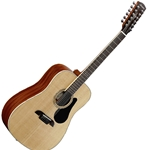 Alvarez Artist Series AD60-12 Dreadnought Twelve String Acoustic Natural/Gloss Finish