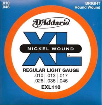 DADDARIO EXL110 Regular Light .010-.046
