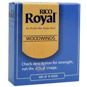 Tenor Sax Reed - Rico Royal #2.5 - 10pk - RERRRRTS2.5