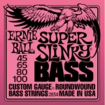 Ernie Ball 2834 Super Slinky Round Wound Bass Strings