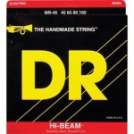 DR Strings MR45 Hi-Beam Electric Bass Strings (Medium, 45-105)