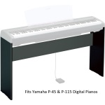 Yamaha L85 custom-matched keyboard stand for P45 & P115