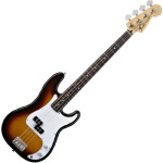 Fender Standard Precision Bass, Brown Sunburst, Rosewood Fingerboard