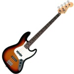 Fender Jazz Bass, Brown Sunburst, Rosewood Fingerboard
