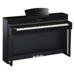 CLP635B Clavinova console digital piano with bench