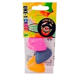 Micks Picks Uke Picks Colored 3pk